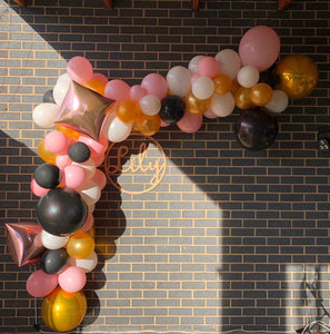Balloon Installation 1m & 60 cm Hoop Package