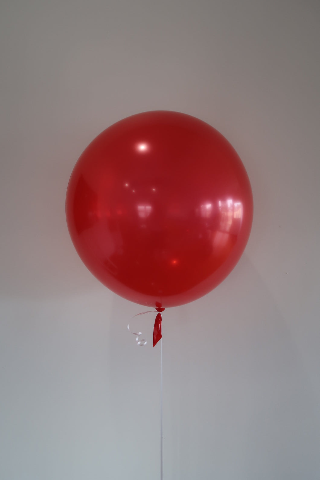 Latex Orb Balloon Red