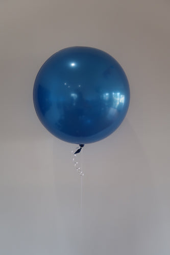 Latex Orb Balloon Blue