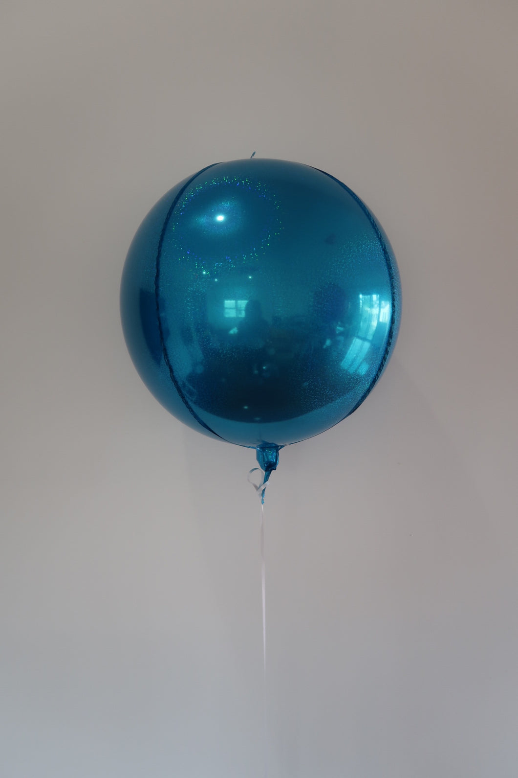 Orb Balloon Prismatic Blue
