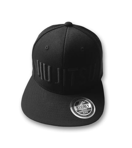 Jiu Jitsu Snapback - All Black