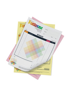 "8.5"" x 11"" 3 Part NCR Forms (No Numbering)"