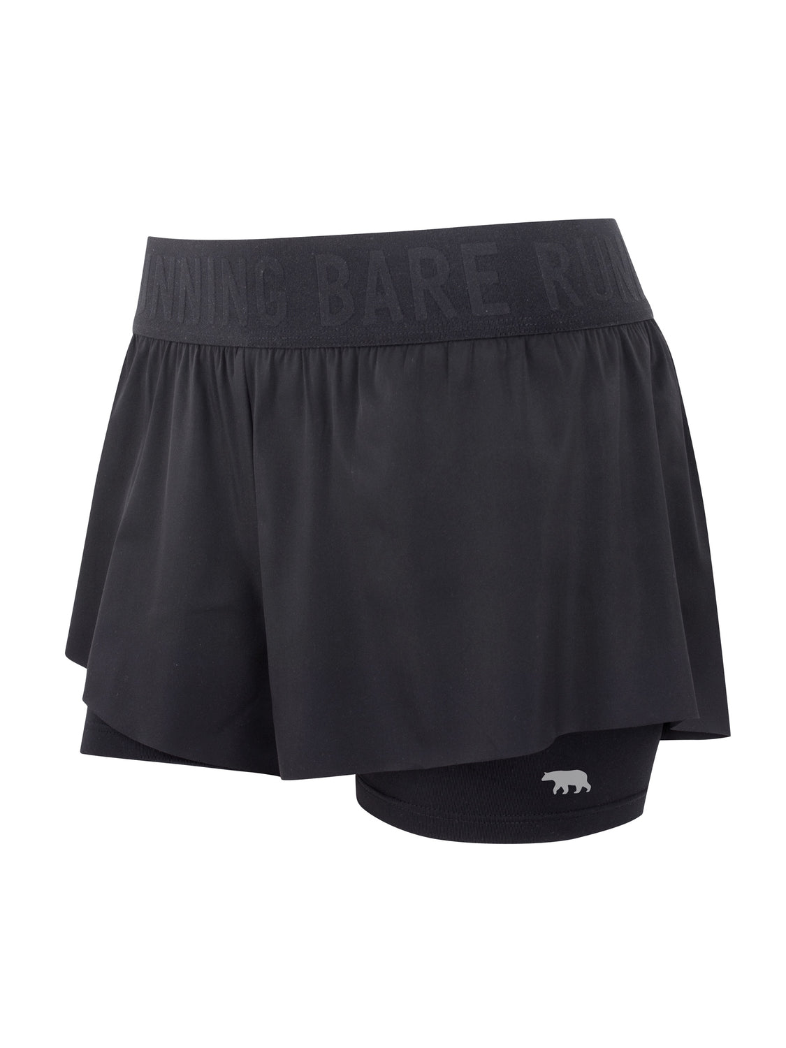 Running Bare Match Point 2 in 1 short