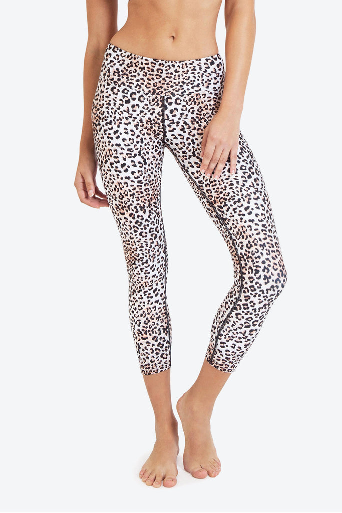 Dharma Bums wild thing 7/8 yoga leggings