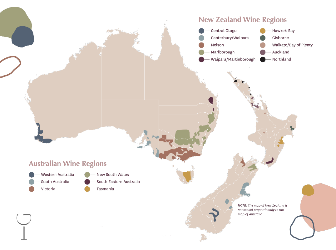Wine Regions of Australia and New Zealand