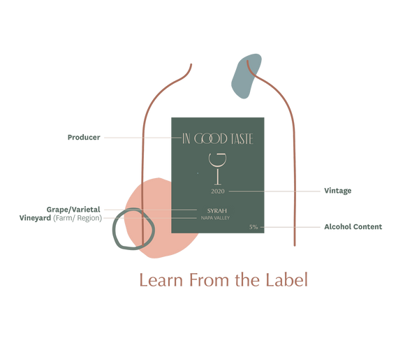 Wine Labels Can Tell You A Lot! | In Good Taste, Things to Know About Wine