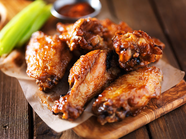 Buffalo Wings Pair Well with Bright, Citrusy Wines