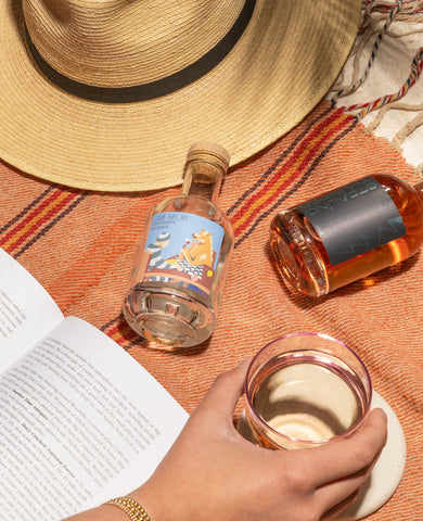 Lounge at the Beach with White or Rose Wines