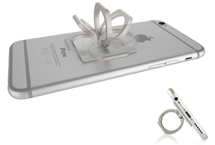Top Universal Ring Stand for Smartphones (Square Design)