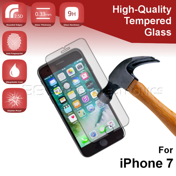 Tempered Glass Screen Protector - iPhone 7