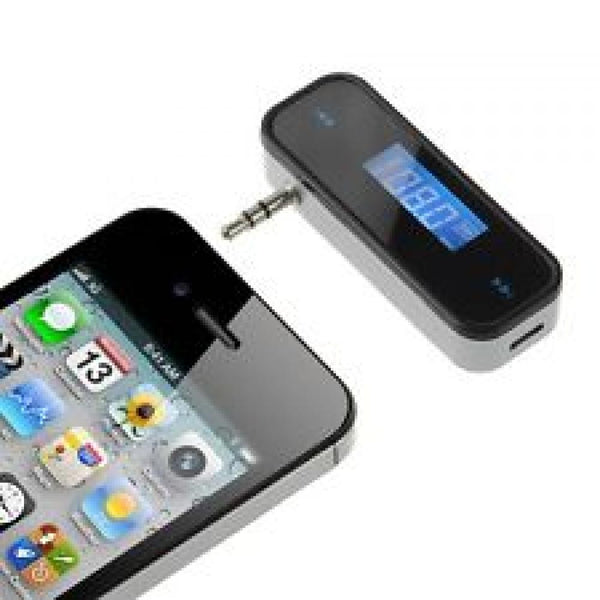 Universal FM Transmitter for iPhone/Samsung/BlackBerry