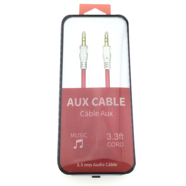 Auxiliary Cable 3.5 to 3.5mm