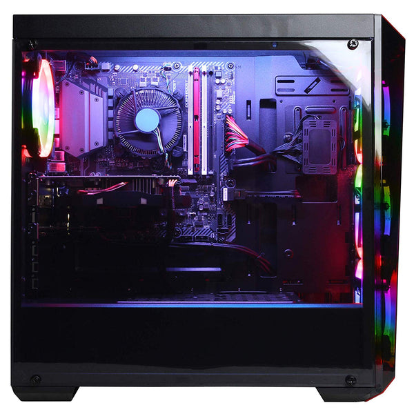 CYBERPOWERPC Gamer Xtreme VR Desktop Gaming PC (Intel i5-8400 2.8GHz, 8GB DDR4, NVIDIA GeForce GTX 1060 3GB, 120GB SSD+1TB HDD