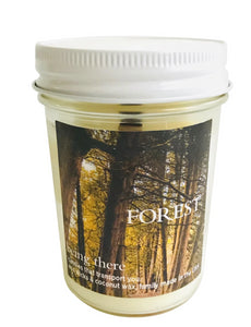 """BEING THERE"" FOREST, Tea Leaves Tobacco & Berries, 8 oz. Jar Candle"
