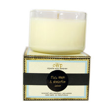 Load image into Gallery viewer, (12) ASHER, Black Fig & Sage, Medium Glass Candles