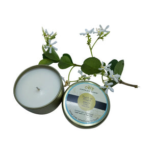 FIGHT OR FLIGHT, Jasmine & Vanilla, 5 oz. Tin Candle