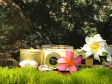 Load image into Gallery viewer, JOY, Plumeria, 1 oz. Tin Candle