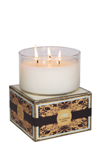Load image into Gallery viewer, FIGHT OR FLIGHT, Jasmine & Vanilla, Large Glass Candle