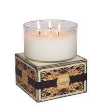 Load image into Gallery viewer, GIFTED, White Tea Fig & Tobacco, Large Glass Candle