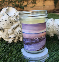 "Load image into Gallery viewer, ""BEING THERE"" OCEAN, Sea Salt & Ocean Air, 8 oz. Jar Candle"