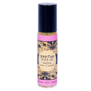 DAHLIA, Pomegranate Rose & Lychee, Roll-on Parfum