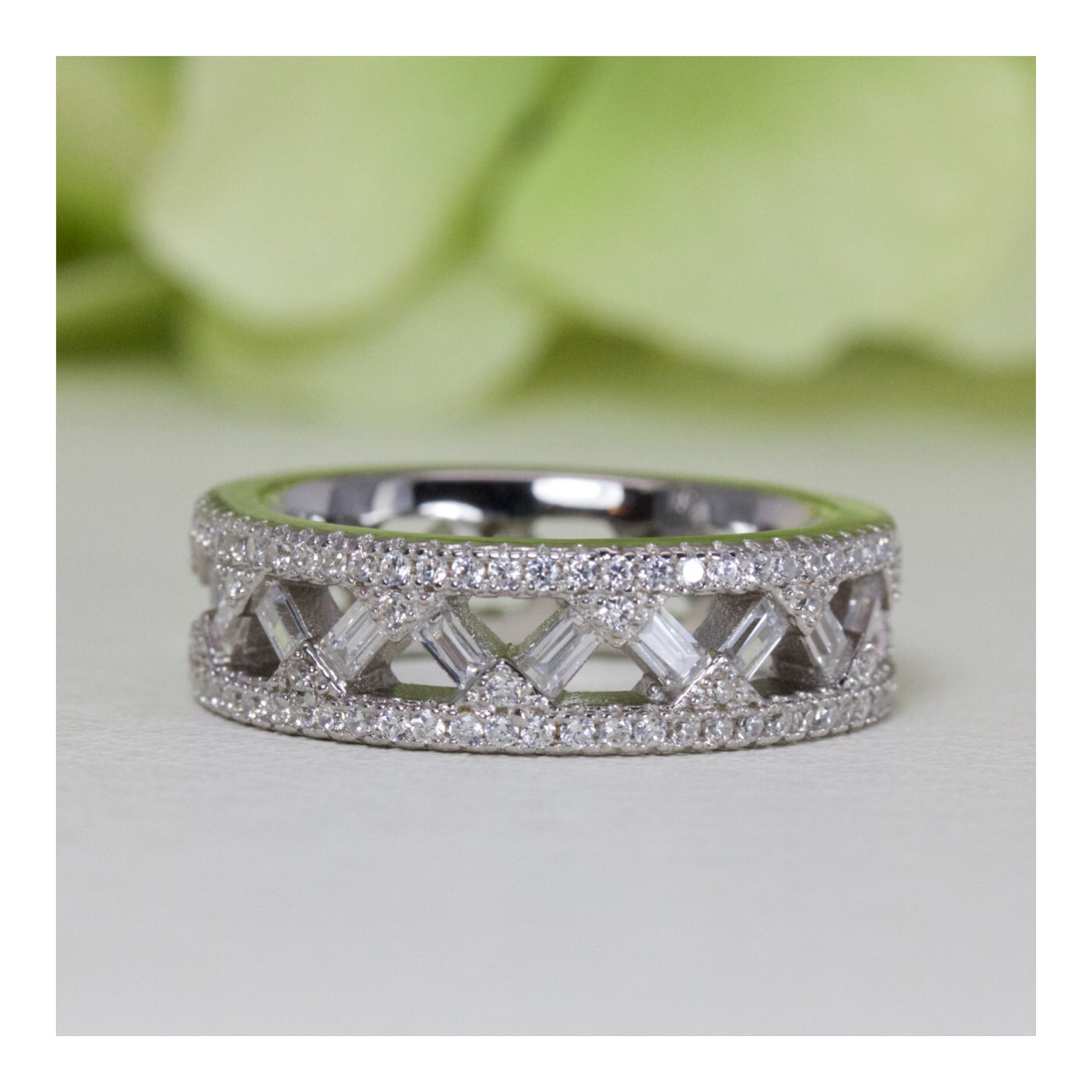 cubic zirconia kim products platinum new all real around cttw silver bands eternity img band sterling plated