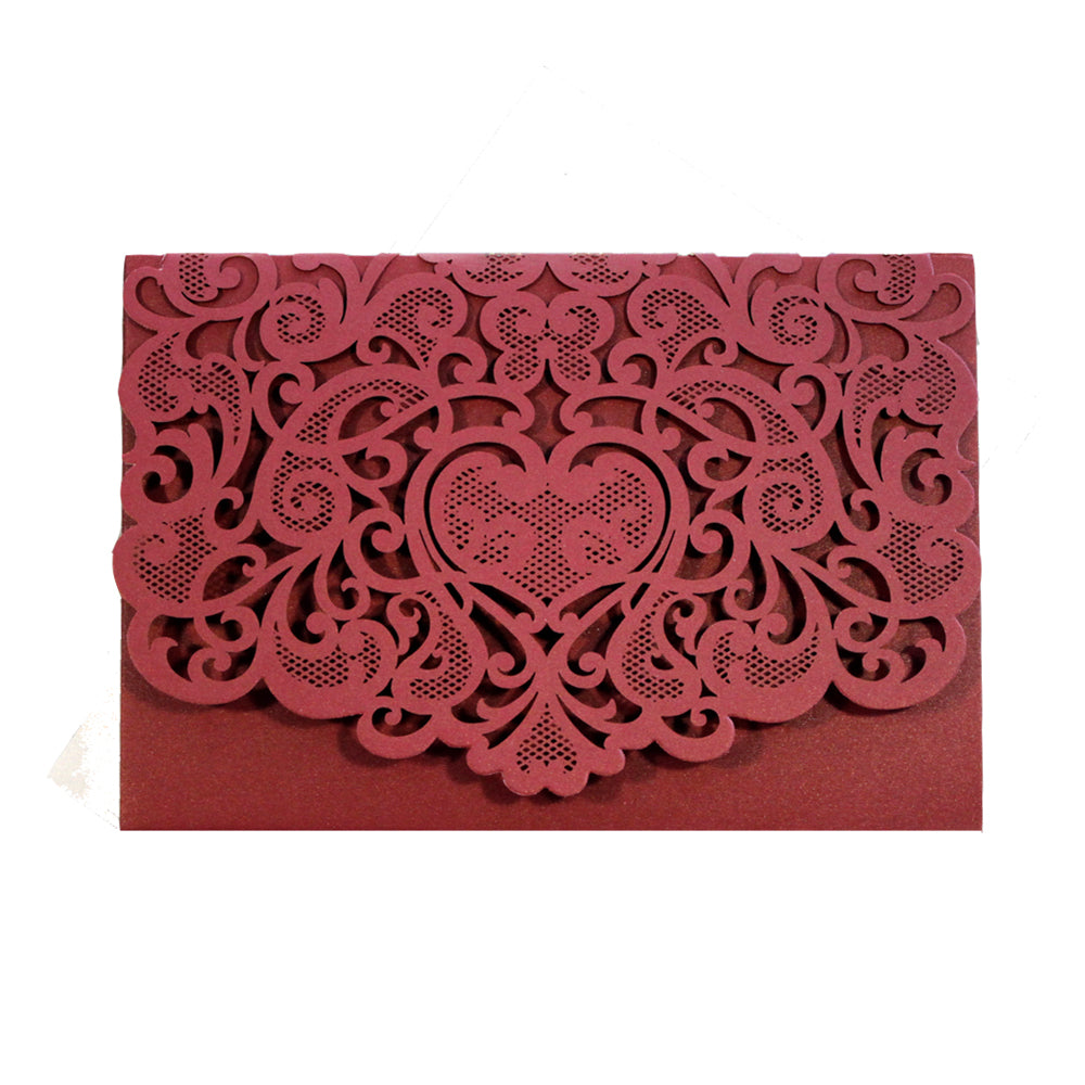 Laser Cut Invitation Covers