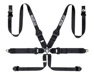 "Sparco Competition 6pt Harness, 3""/ 2"" Belts"