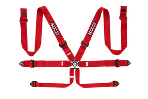 "Sparco Competition 6pt Harness, 3"" Belts"