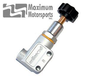 Adjustable Brake Proportioning Valve, SAE ports
