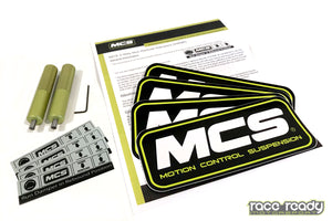 MCS Single Adjustable Coilovers - Fox w/Solid Rear Axle