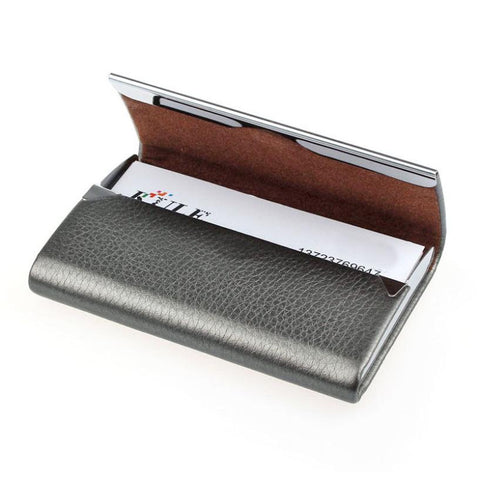 Image of Leather Business Card Holder