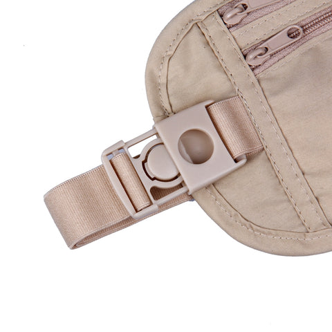 Image of Multi-Pockets Travel Waist Bag