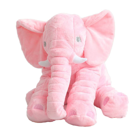 Image of Plush Elephant Doll for Baby
