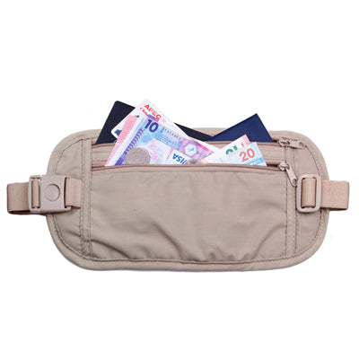 Multi-Pockets Travel Waist Bag