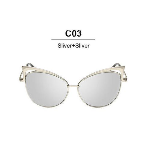 Image of Luxury Cat Eye Sunglasses for Women