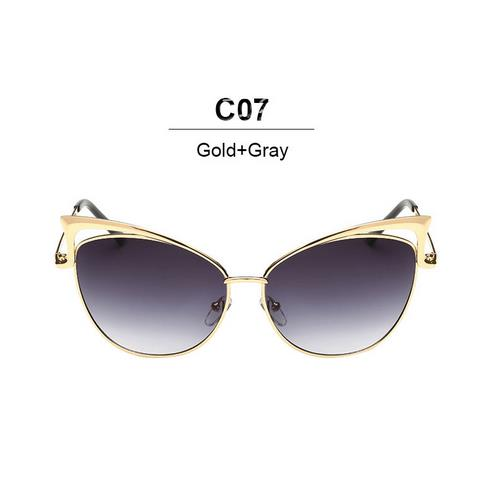 Luxury Cat Eye Sunglasses for Women