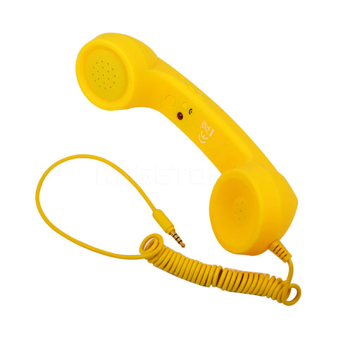 Image of Retro Telephone Microphone