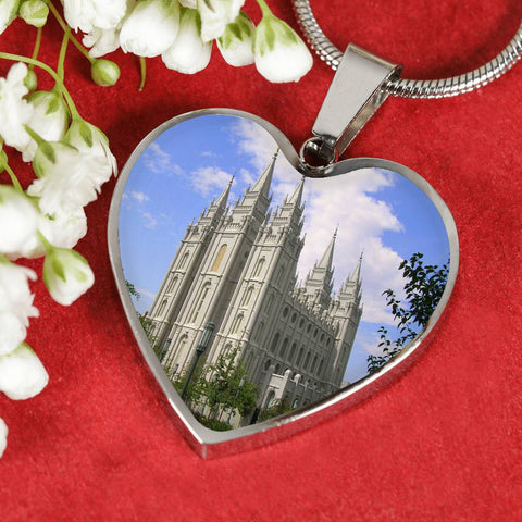Image of Salt Lake Temple Necklace or Bracelet
