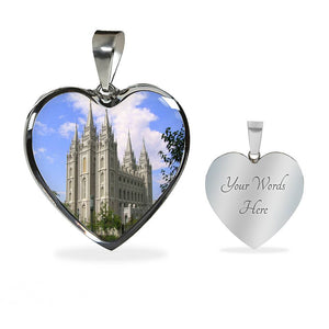 Salt Lake Temple Necklace or Bracelet
