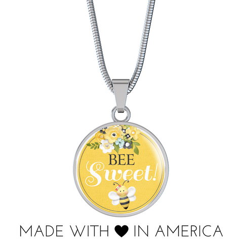 "Image of ""Bee Sweet!"" Bangle Bracelet or Necklace"