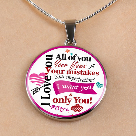 "Image of ""I Love You, All of You"" Necklace"