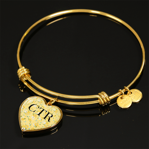 Image of CTR Heart Charm Bracelet or Necklace