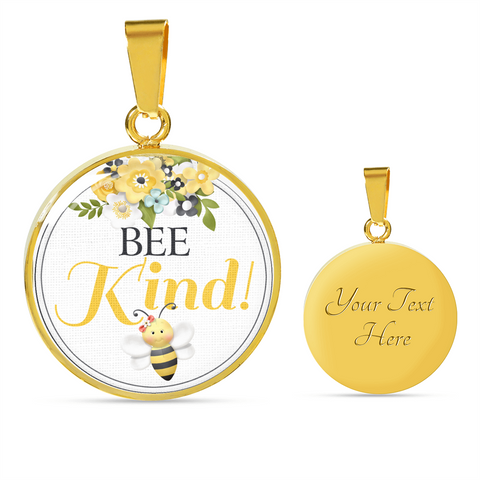 "Image of ""Bee Kind!"" Necklace or Bangle Bracelet"