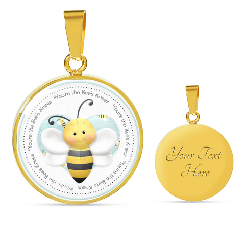"Image of ""Bees - You're the Bee's Knees"" Necklace"