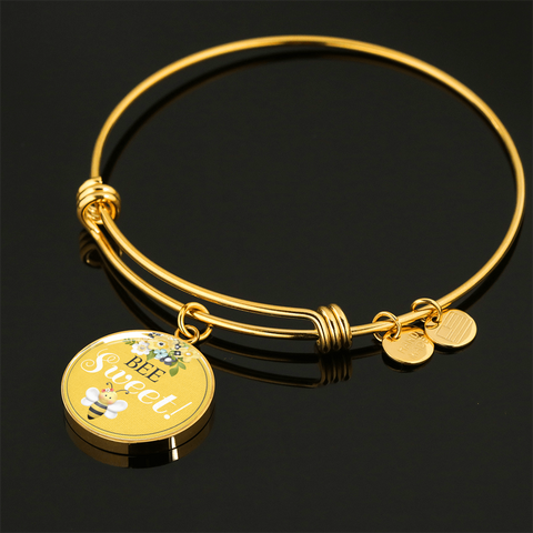 """Bee Sweet!"" Bangle Bracelet or Necklace"
