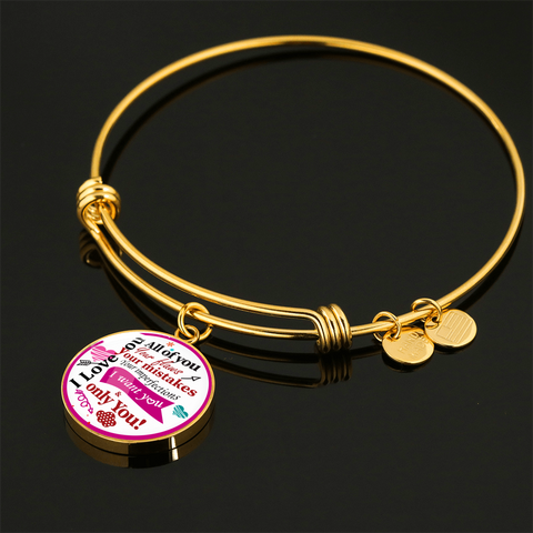 "Image of ""I Love You, All of You"" Bangle Bracelet"