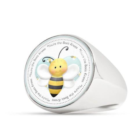 You're the Bee's Knees Signet Ring