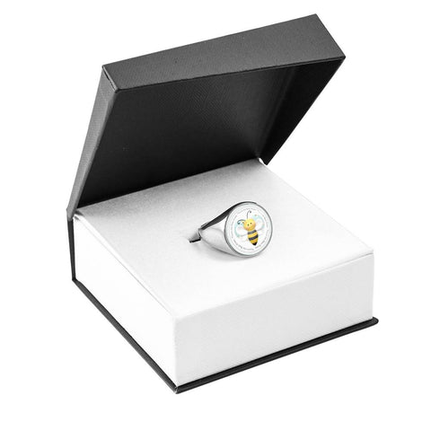 Image of You're the Bee's Knees Signet Ring
