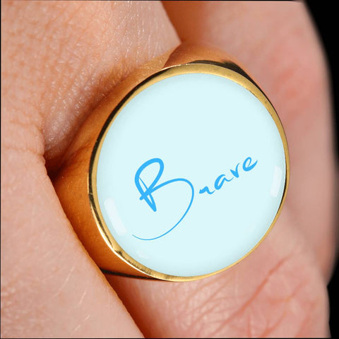 Image of Brave Signet Ring
